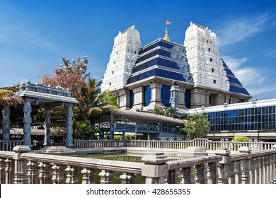 ISKCON (International Society for Krishna Consciousness) Temple in Bangalore