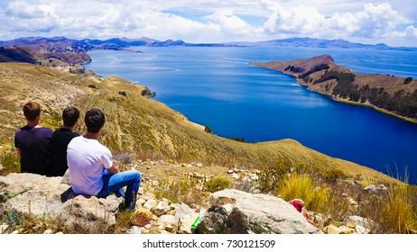 Isla del Sol in Bolivia Peru
