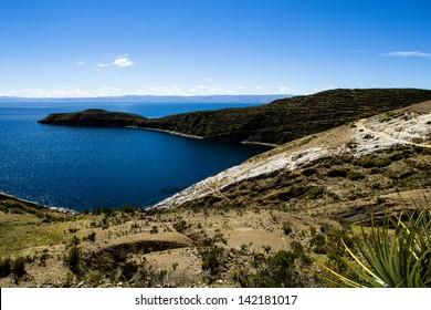 Isla del Sol on the Titicaca lake, Bolivia.