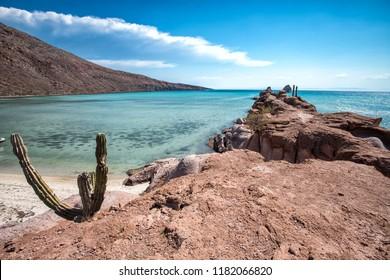Isla espiritu santo, La Paz, Baja california, Mexico.
