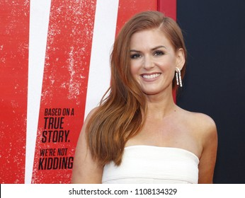 Isla Fisher at the Los Angeles premiere of 'Tag' held at the Regency Village Theatre in Westwood, USA on June 7, 2018.