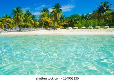 Isla Mujeres Beach Mexico