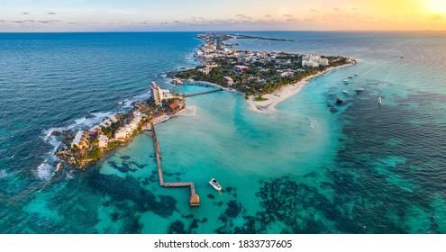 isla mujeres iskand near Cancun Mexico