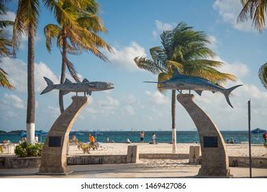 Isla Mujeres, Quintana Roo / Mexico - Apr 2017 Isla Mujeres is considered to be one of the best places in the world to catch Sailfish