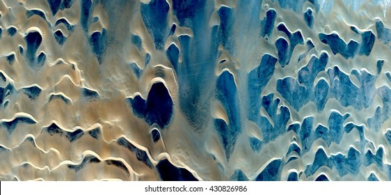 Islam,horror, silhouette, suggestions, tribute to Pollock, abstract photography of the, deserts of Africa from the air,aerial view, abstract expressionism, contemporary photographic art,