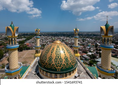 Islamic center of Lombok, also the biggest mosque in Lombok
