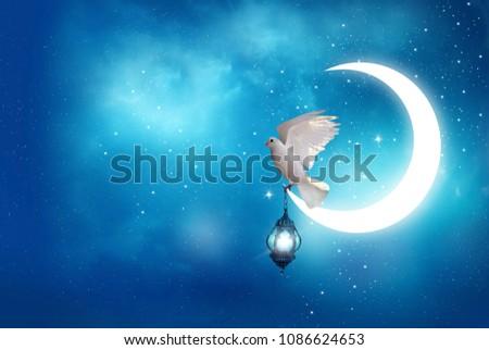 Islamic greeting eid mubarak cards muslim stock photo edit now islamic greeting eid mubarak cards for muslim holidayseid ul adha festival celebration m4hsunfo