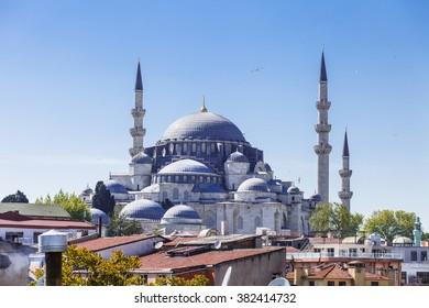 Islamic mosque in Istanbul, Turkey