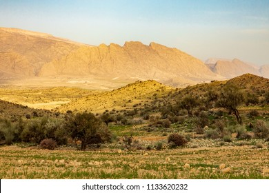 Islamic Republic of Iran.  Fars Province, Rudbal. Rural landscape.