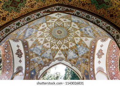 Islamic Republic of Iran. Isfahan, Kashan. March 4, 2018. The Fin Garden is one of the oldest surviving Persian gardens in Iran. Bagh-e Fin. UNESCO World Heritage Site known as the Persian Garden.