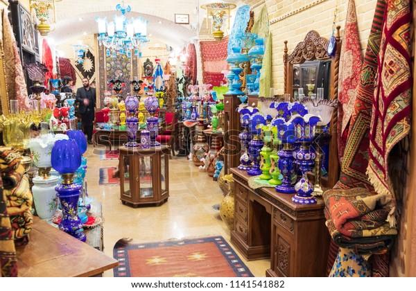 Islamic Republic Iran Isfahan Souvenier Items Stock Photo (Edit Now