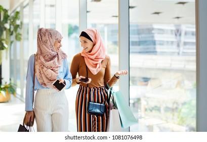 Islamic Women Talking Together