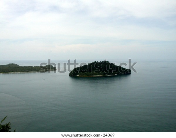 A island