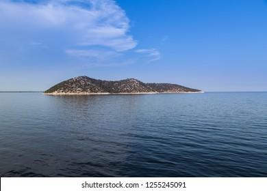 Island in aegean sea, Greece