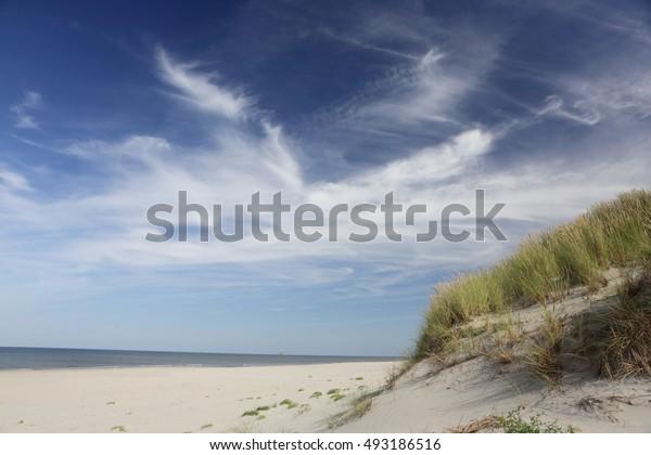 Island Ameland. Nederland.