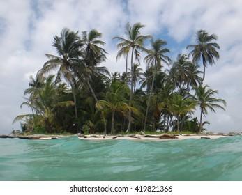 Island in the archipelago of San Blas , Panama