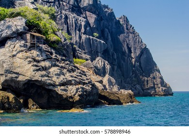 The island and blue sea, Moo Koh Chumphon, Chumohon province, Thailand