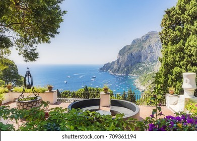 The island of Capri in italy, Europe
