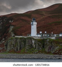 Island of Davaar Light House off Campbeltown Loch on the Mull of Kintyre, Scotland