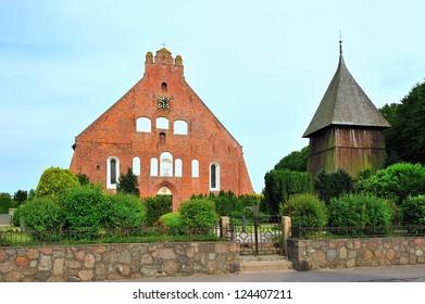 Island Fehmarn St. Petri church, Germany