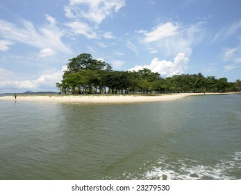 An Island in front of Singapore
