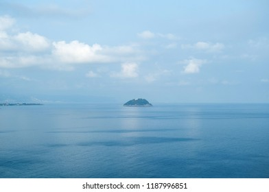 the island of Gallinara off the coast of Alassio