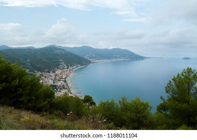 the island of Gallinara off the coast of Laigueglia