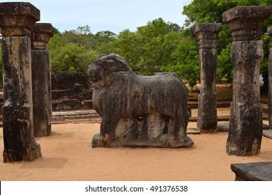 Island Garden ruins, Polonnaruwa