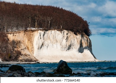 Island Rügen, Germany, Mecklenburg-Vorpommern (Mecklenburg-West Pomerania). Rügen is the biggest island of Germany and famous for it´s chalk cliffs. It´s a beautiful island, in summer and winter.