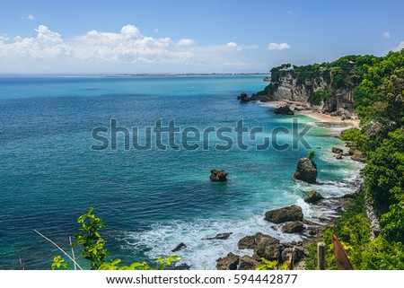 Island Gods Bali Island Indonesia Ocean Stock Photo Edit Now
