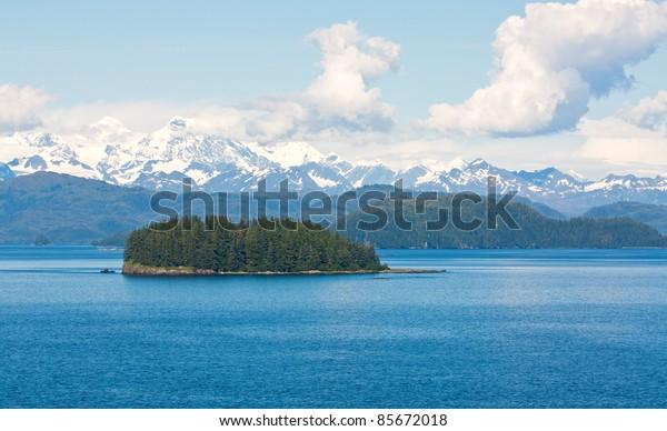 Island in the Gulf of Alaska Wilderness