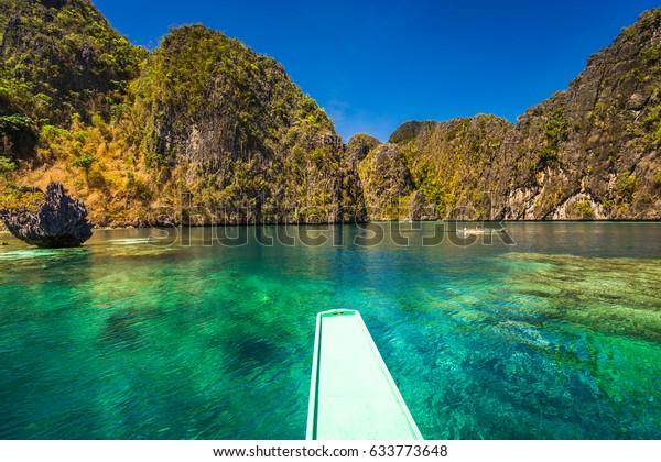 Island Hopping Coron Palawan Philippines Stock Photo Edit