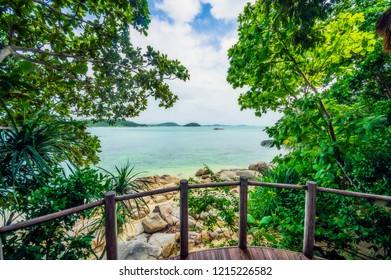 Island impressions from an island near Bintan, Singapore, Indonesia, asia