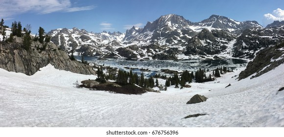 Island Lake in the Wind River Range, Wyoming