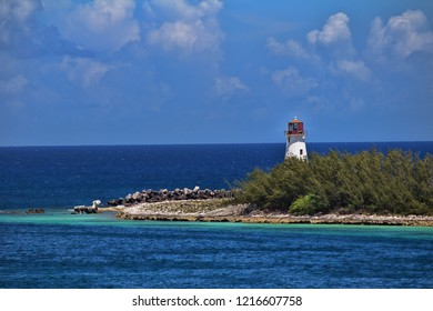 Island with a Lighthouse