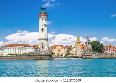 Island Lindau on Lake Constance