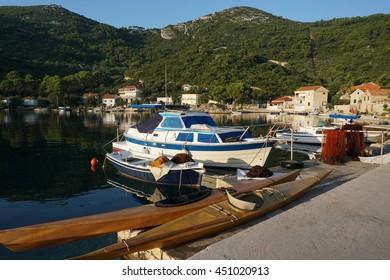 Island Mljet, Okuklje. Croatia