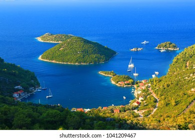 Island Mljet, Prozurska luka, Croatia