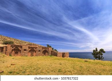 Island of the Moon (Isla de la Luna), Lake Titicaca, Bolivia