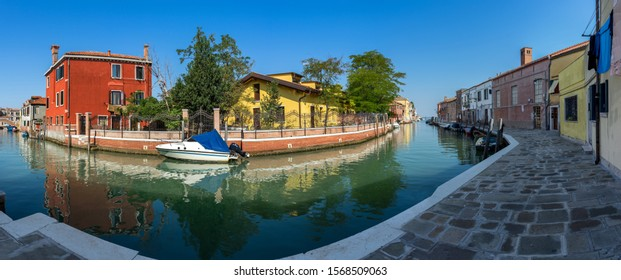 The island of Murano in Venice, Italy. Famous for decorative-glass production.