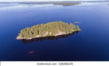 Island near Kuopio
