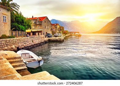 The Island on the lake in Montenegro