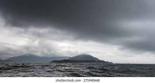 Island in the Pacific Ocean, Skeena-Queen Charlotte Regional District, Haida Gwaii, Graham Island, British Columbia, Canada