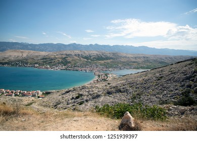Island of Pag in Croatia