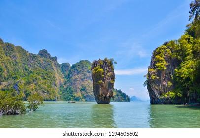 Island in Phang Nga Province Thailand