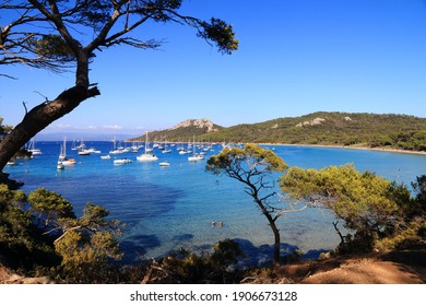 The island of Porquerolles and the Notre-Dame beach - Shutterstock ID 1906673128