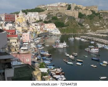 Island of Procida, Naples, Italy