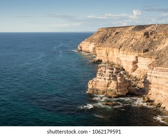 Island Rock, Coastal Cliffs, Kalbarri National Park, Western Australia