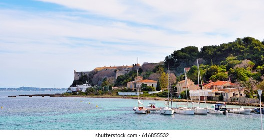 Island Sainte-Marguerite cannes france
