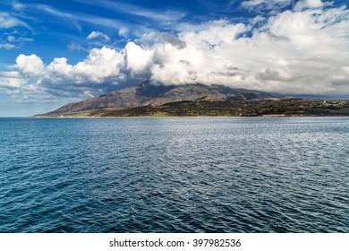 Island Samothraki in Greece